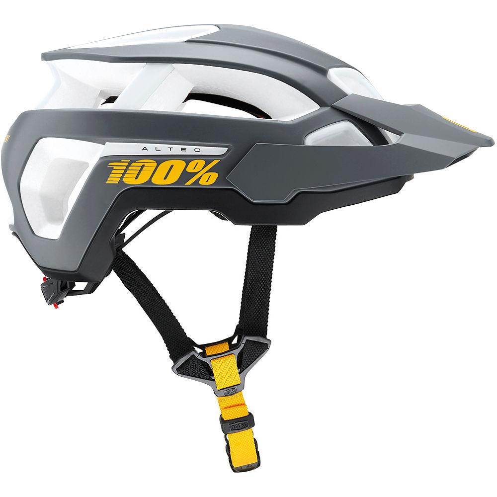 100% Altec MTB Helmet 2019 - Charcoal - XSS, Charcoal