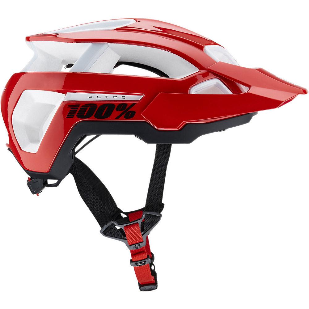 100% Altec MTB Helmet 2019 - Red 2 - SM, Red 2