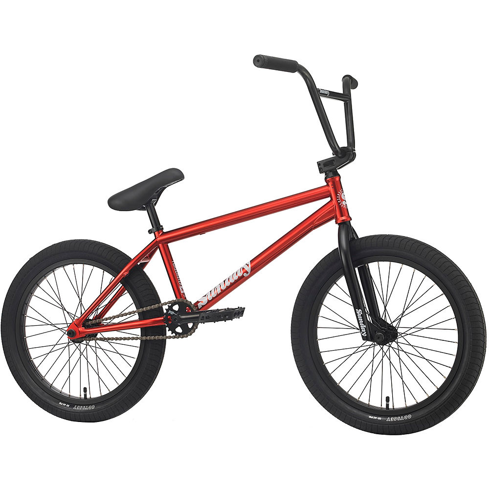 "Image of Sunday Forecaster Silva BMX Bike 2020 - Candy Red - 20.75"", Candy Red"