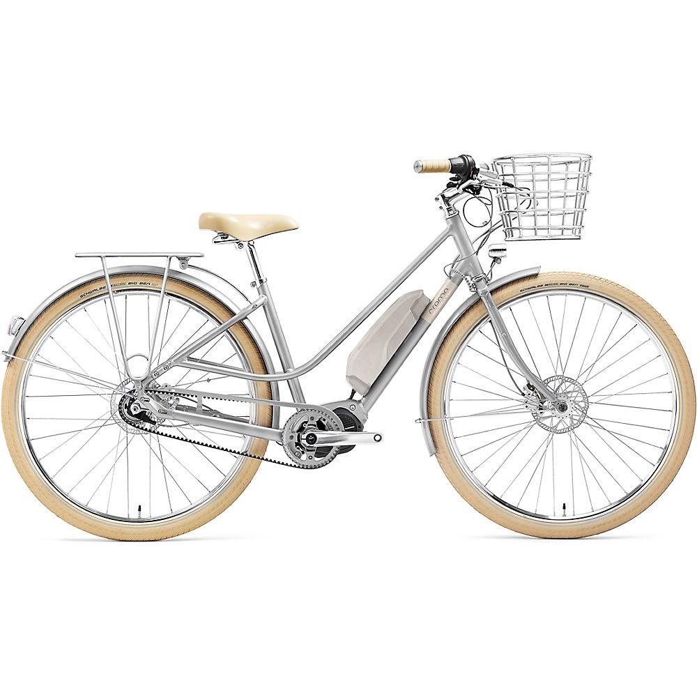 Creme Eve 'E7 Belt Drive E-Bike 2020 - Silver Mist, Silver Mist