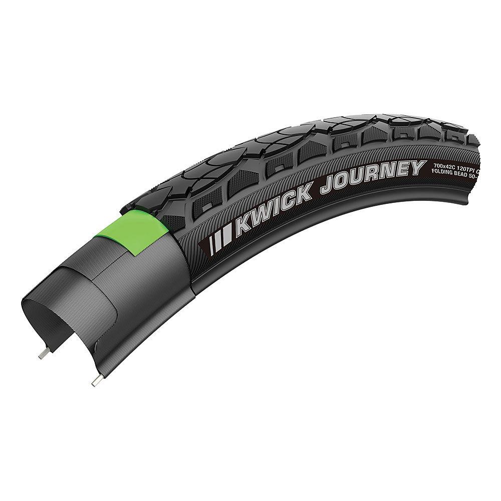 Image of Kenda Kwick Journey Wire Tyre - Noir - KS+, Noir