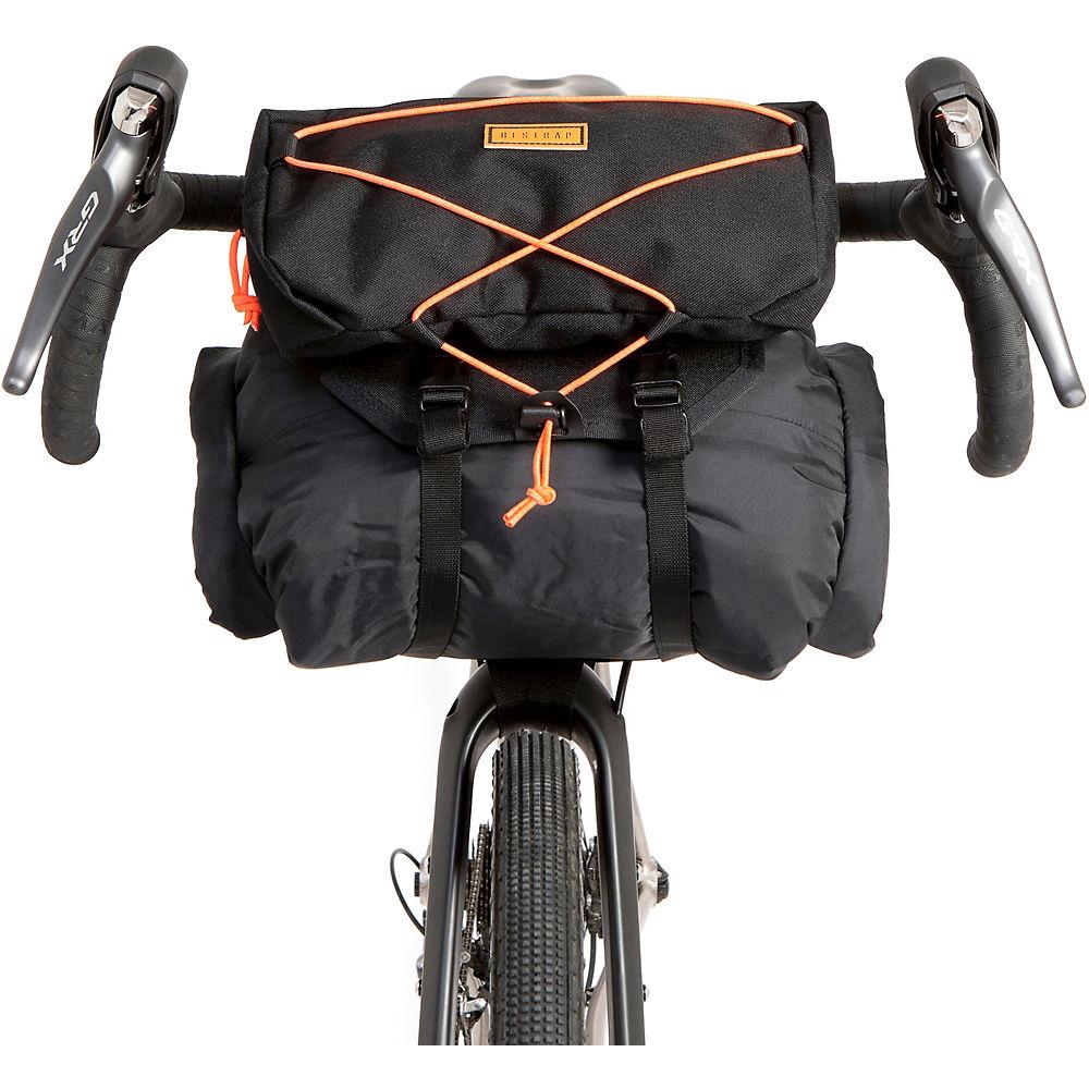 Image of Restrap Bar Bag - Large - Noir - Orange - 17 Litres, Noir - Orange