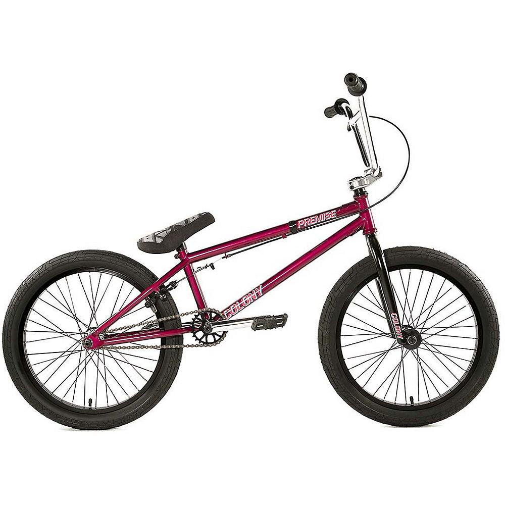Colony Premise BMX Bike 2020 - Brilliant Red-Chrome - 20.75