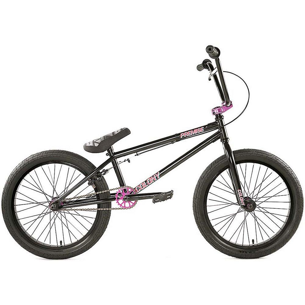 Colony Premise BMX Bike 2020 - ED Black-Pink - 20.75