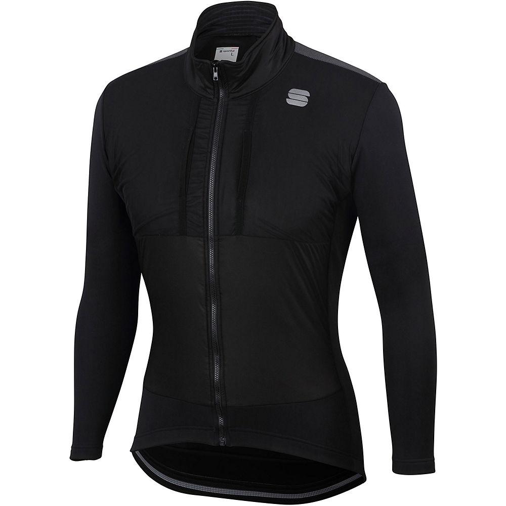 Sportful Supergiara Jacket  - Black-anthracite  Black-anthracite