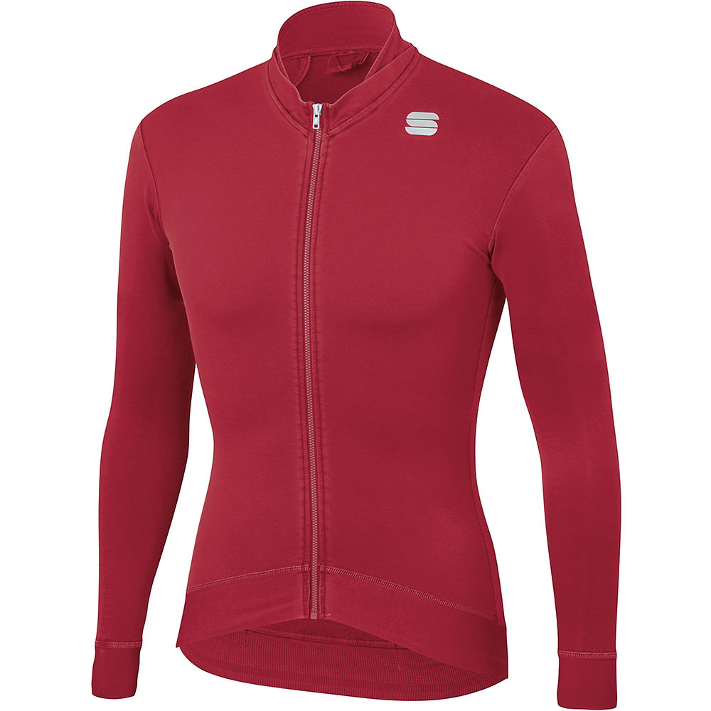 Sportful Monocrom Thermal Jersey - Red Rumba  Red Rumba