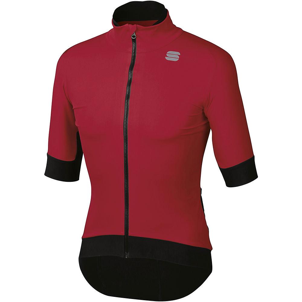 Sportful Fiandre Pro Short Sleeve Jacket - Red Rumba - Xl  Red Rumba