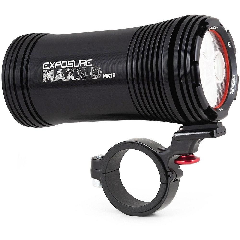 Exposure MaXx D MK13 Front Light - Negro, Negro