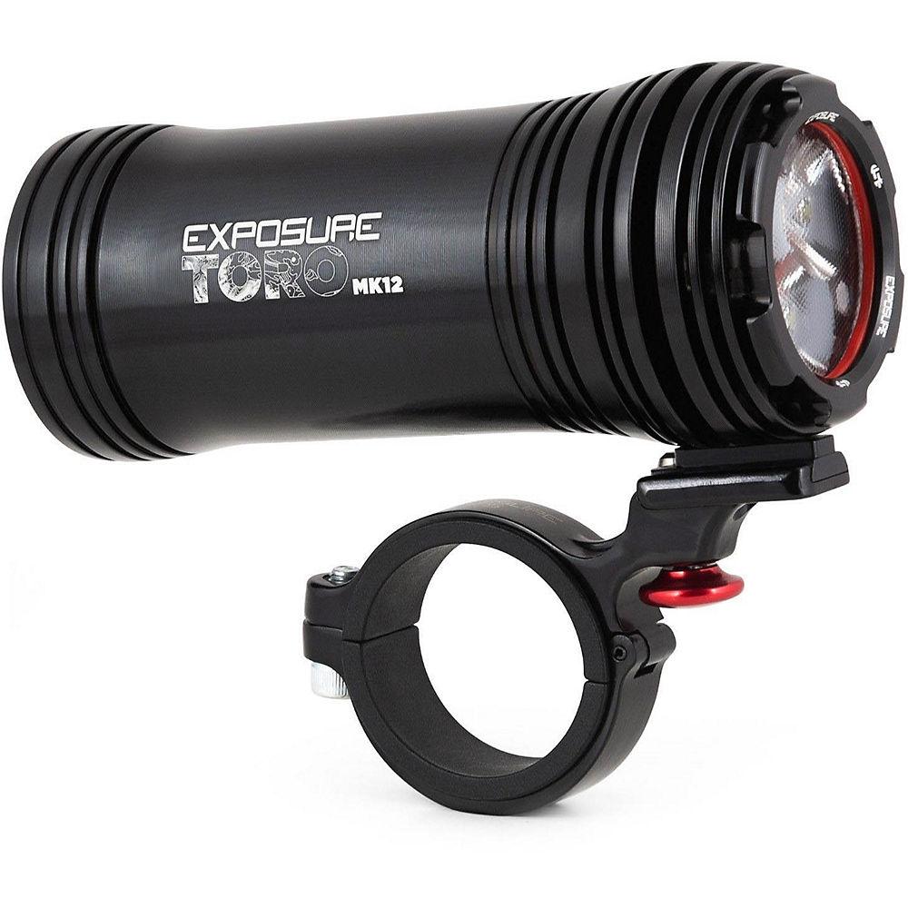 Exposure Toro MK12 Front Light - Negro, Negro