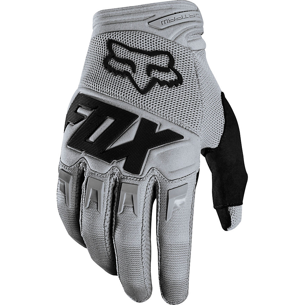 Fox Racing Youth Dirtpaw Race Gloves - Gris, Gris