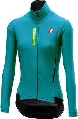 Castelli Women's Perfetto RS Long Sleeve Jacket - Laguna-Yellow Fluro - XS, Laguna-Yellow Fluro