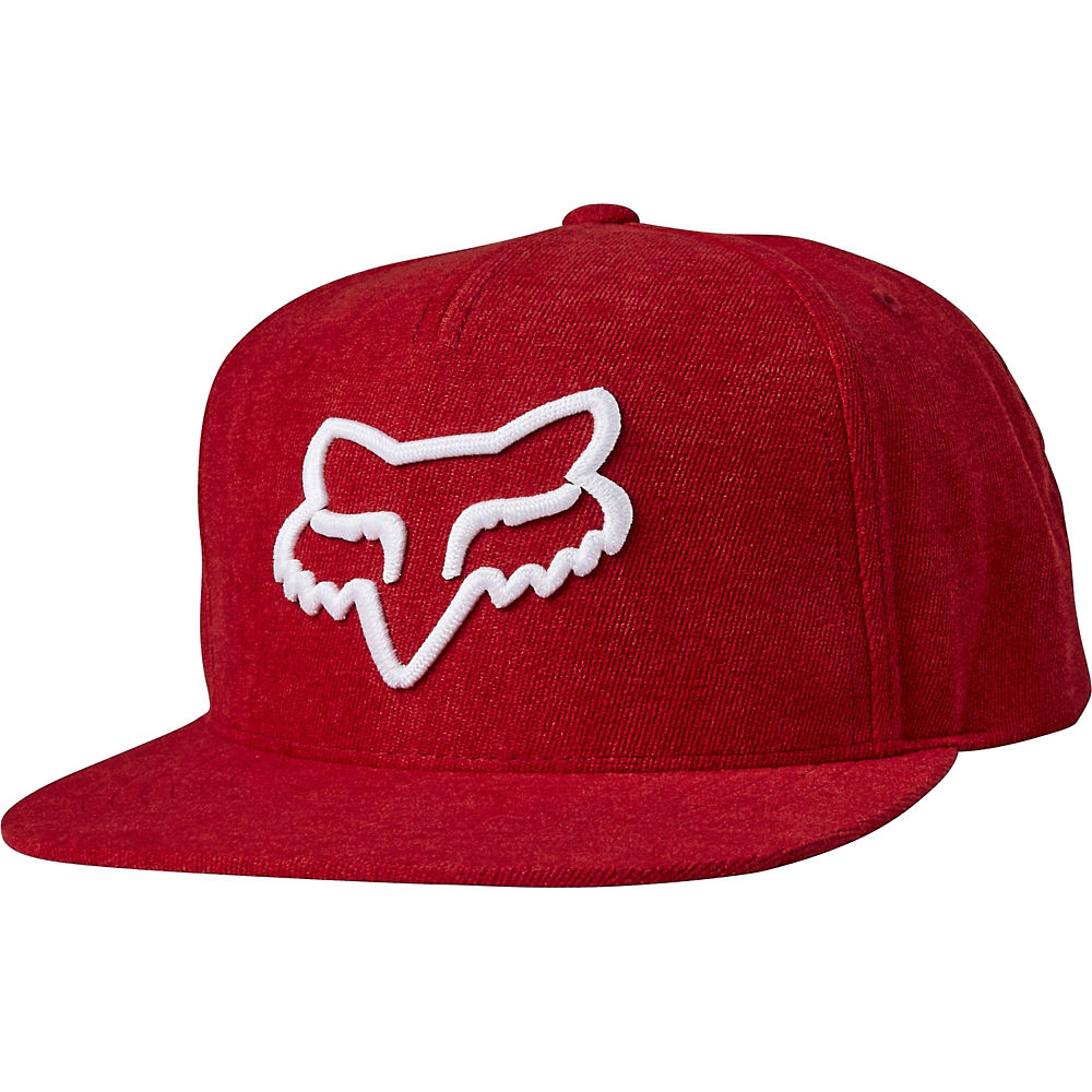 Fox Racing Instill Snapback Hat  - Red-white - One Size  Red-white