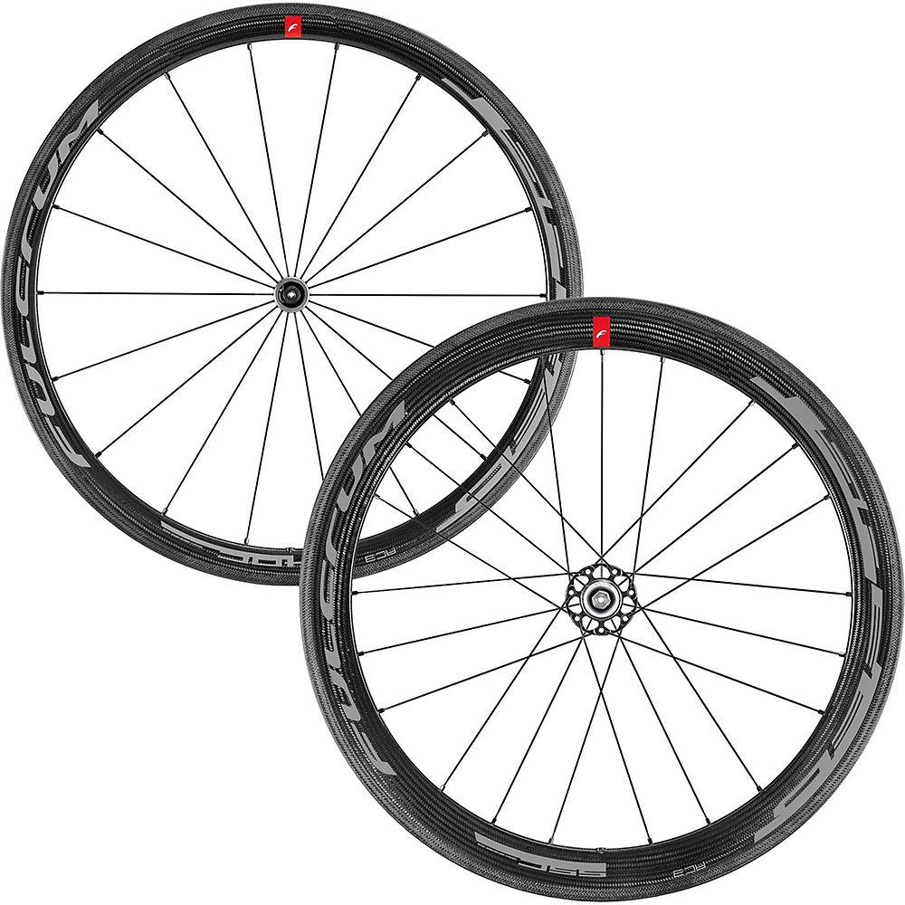 Fulcrum Speed 40C + 55C Clincher Road Wheelset - Black - Shimano, Black