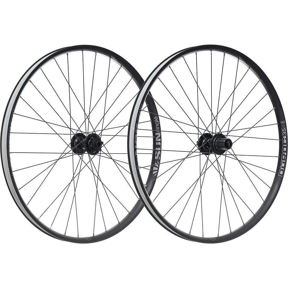 Sun Ringle Duroc 35 Comp Wheelset - Black - Shimano, Black