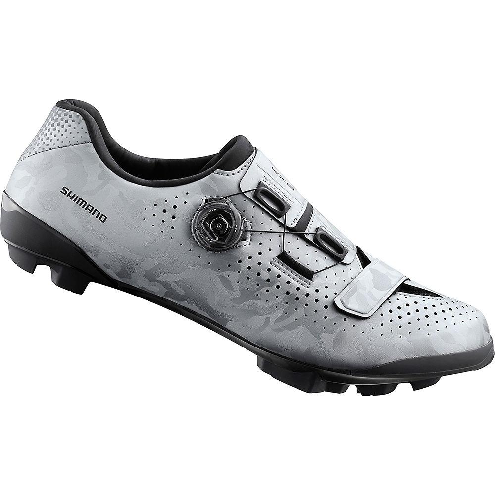 Image of Shimano RX8 SPD Shoes 2020 - Silver - EU 45, Silver