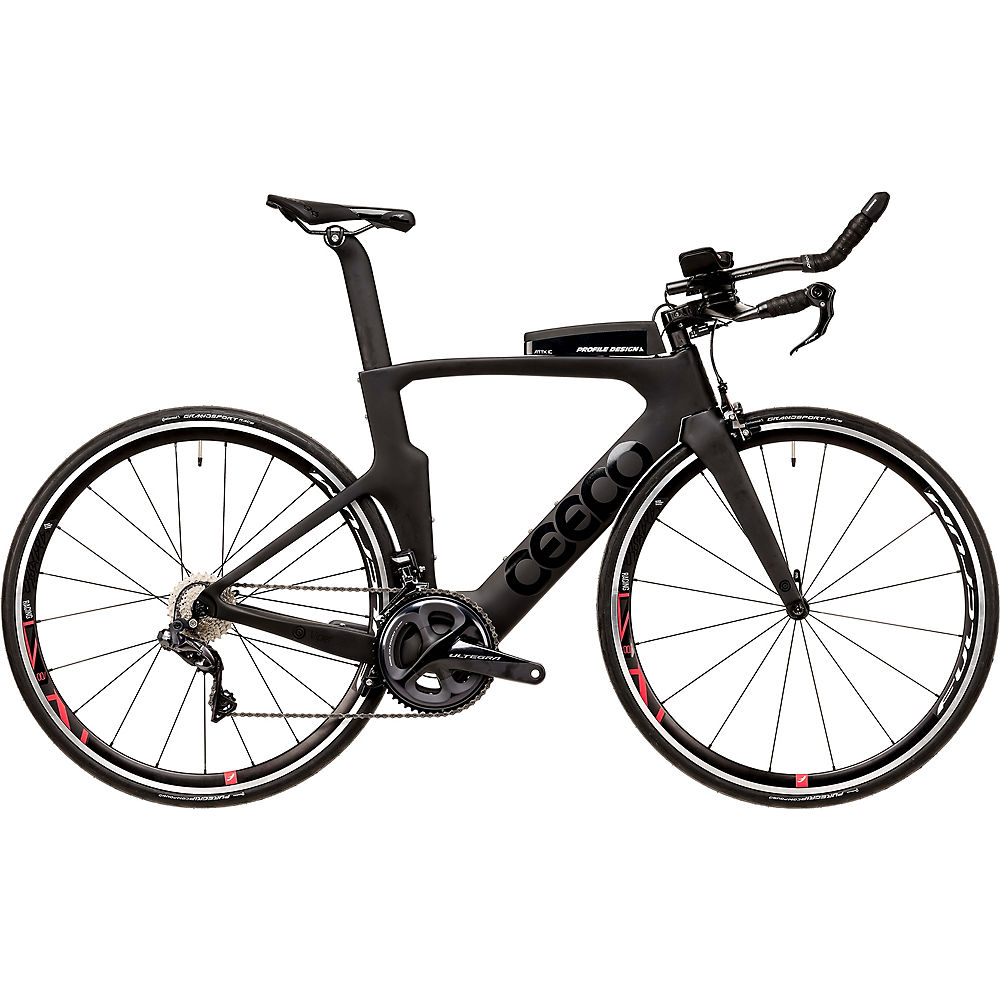 Image of Ceepo Viper R8050 Ultegra Di2 TT Bike 2020 - Gris - Noir, Gris - Noir