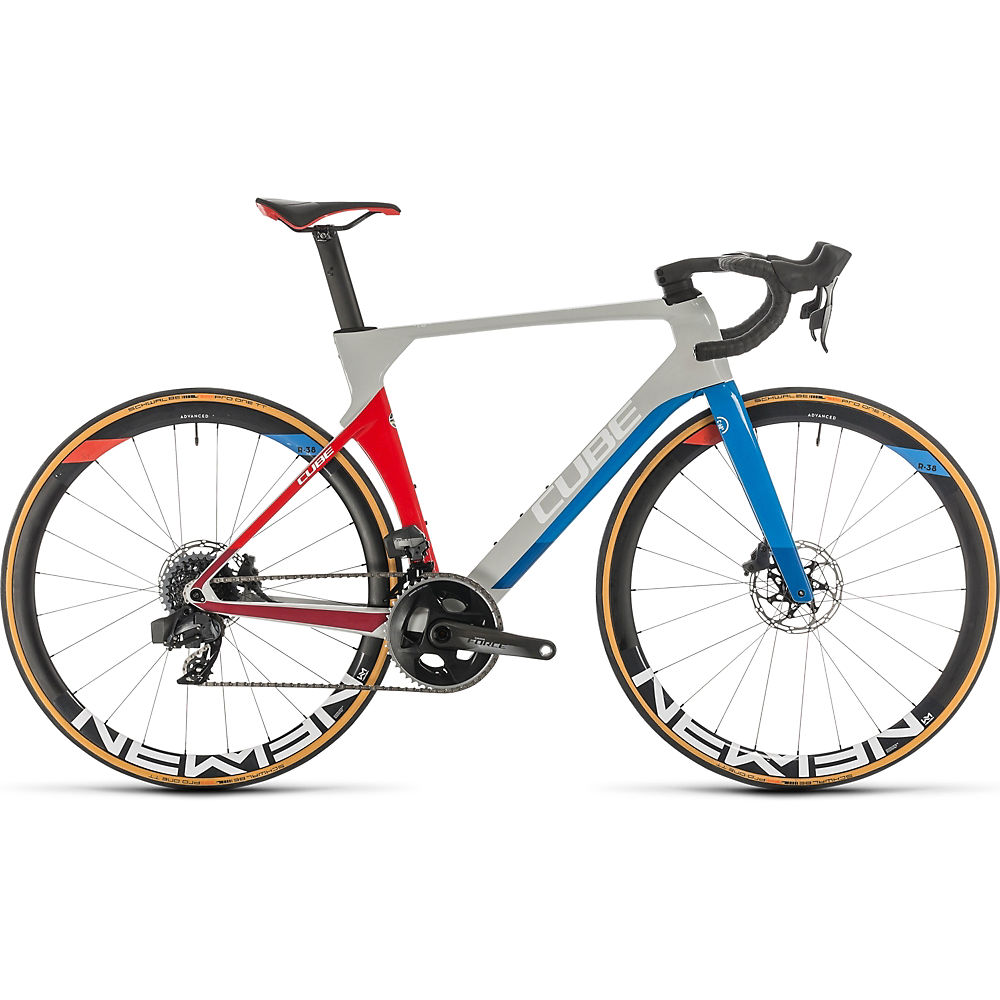 Cube Litening C:68X Race Road Bike 2020 – Teamline – 58cm (22.75″), Teamline