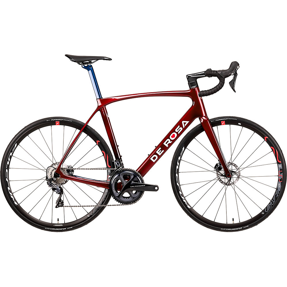 "Image of De Rosa Idol Racing 500 Disc (Ultegra) 2020 - Rouge - 46cm (18""), Rouge"