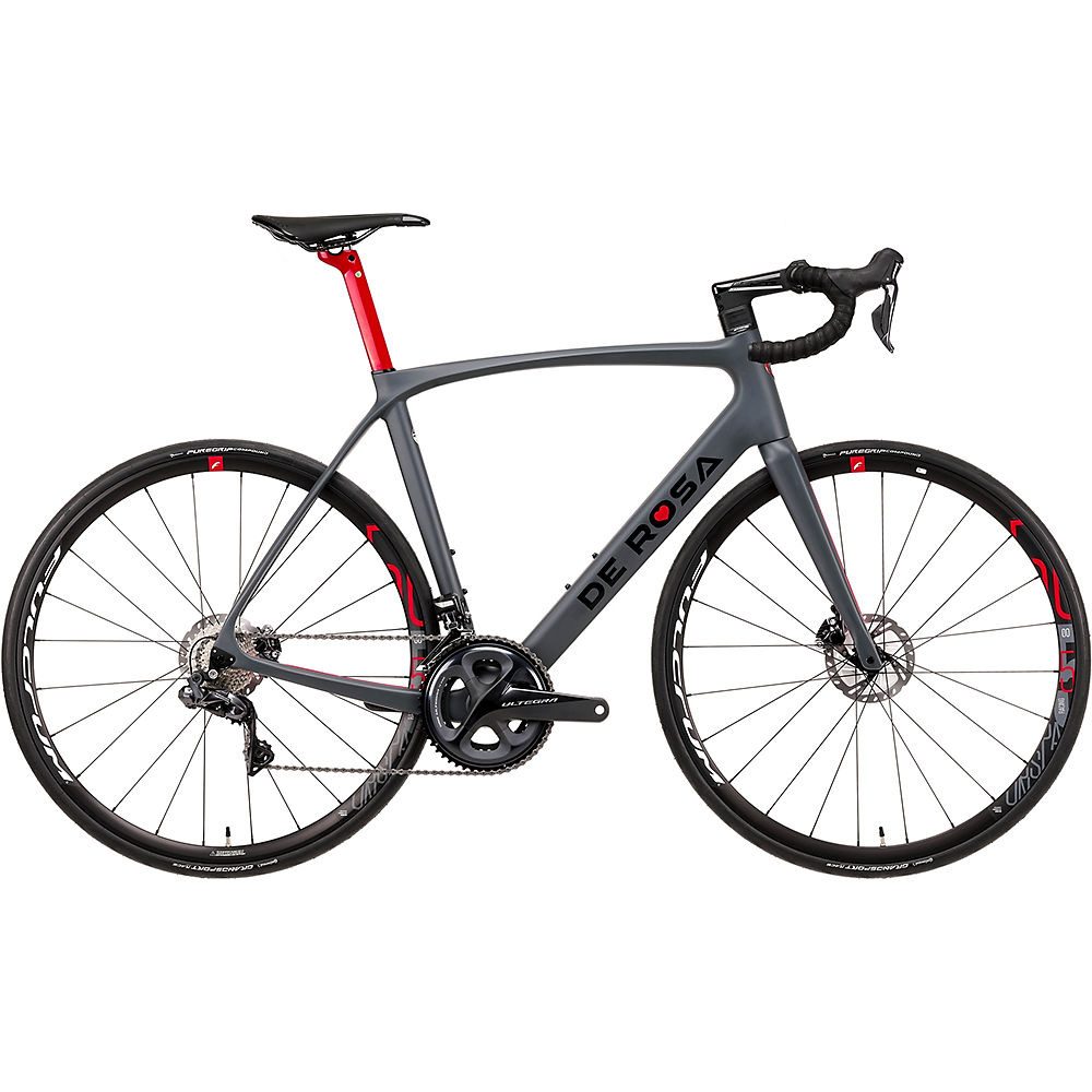 De Rosa Idol Racing 500 Disc (Ultegra Di2) 2020 - Grey - 51.5cm (20