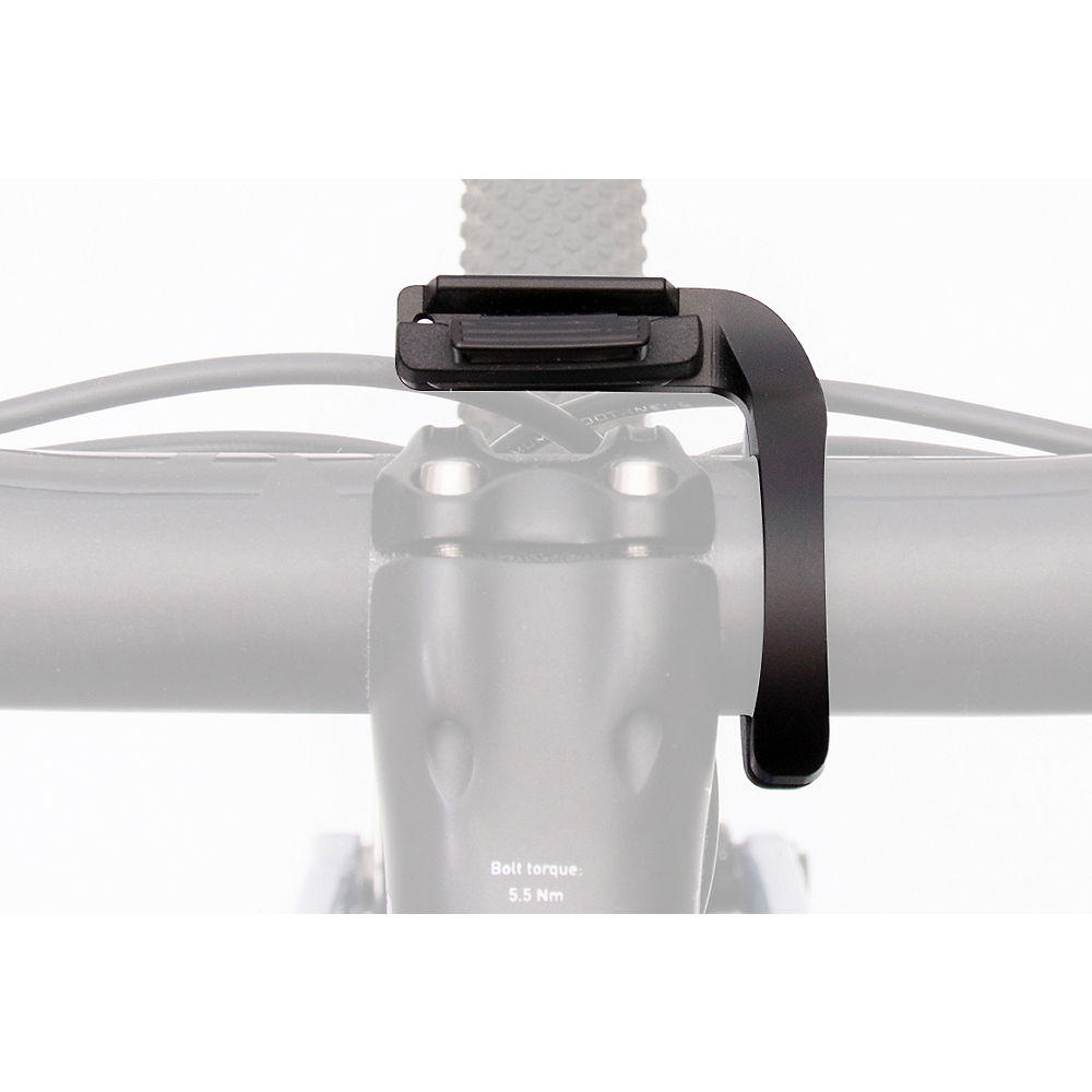 Stages Cycling Dash 2 - Out Front Mount - Black  Black