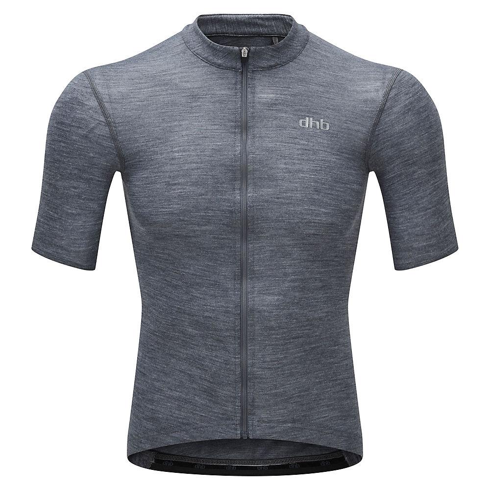 dhb Merino Ultralight Short Sleeve Jersey - Blue - XL, Blue