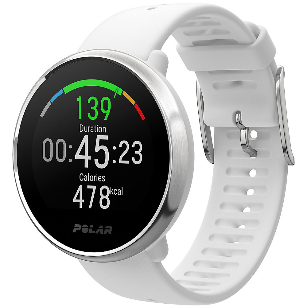 Polar Ignite GPS Watch with Silicone Strap 2019 - White Sillicone - S/M, White Sillicone