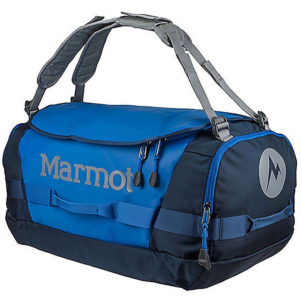 Image of Marmot Long Hauler Duffel Medium - Peak Blue-Vintage Navy - OS, Peak Blue-Vintage Navy