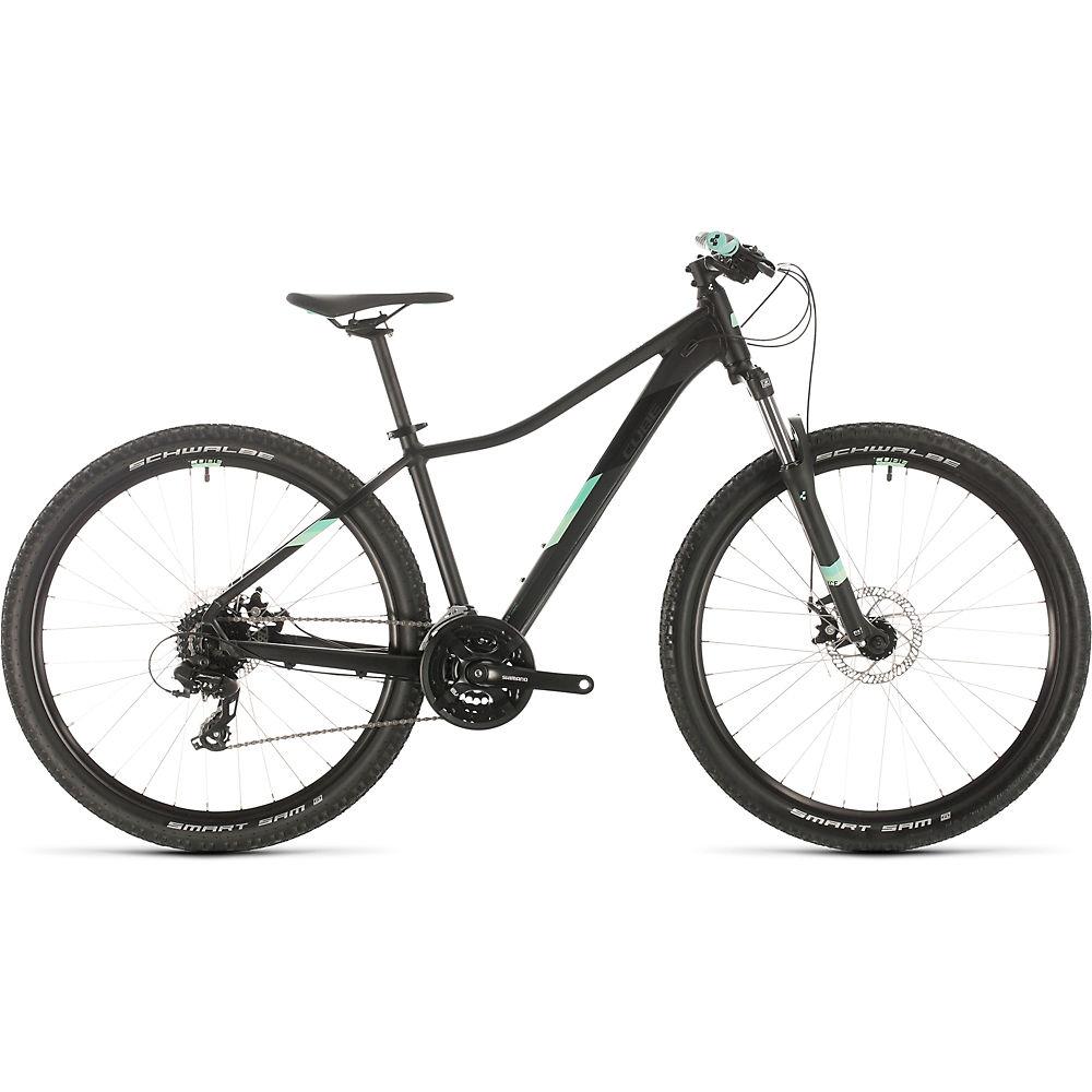 Cube Access WS 27.5 Womens Hardtail Bike 2020 – Black – Mint – 33cm (13″), Black – Mint
