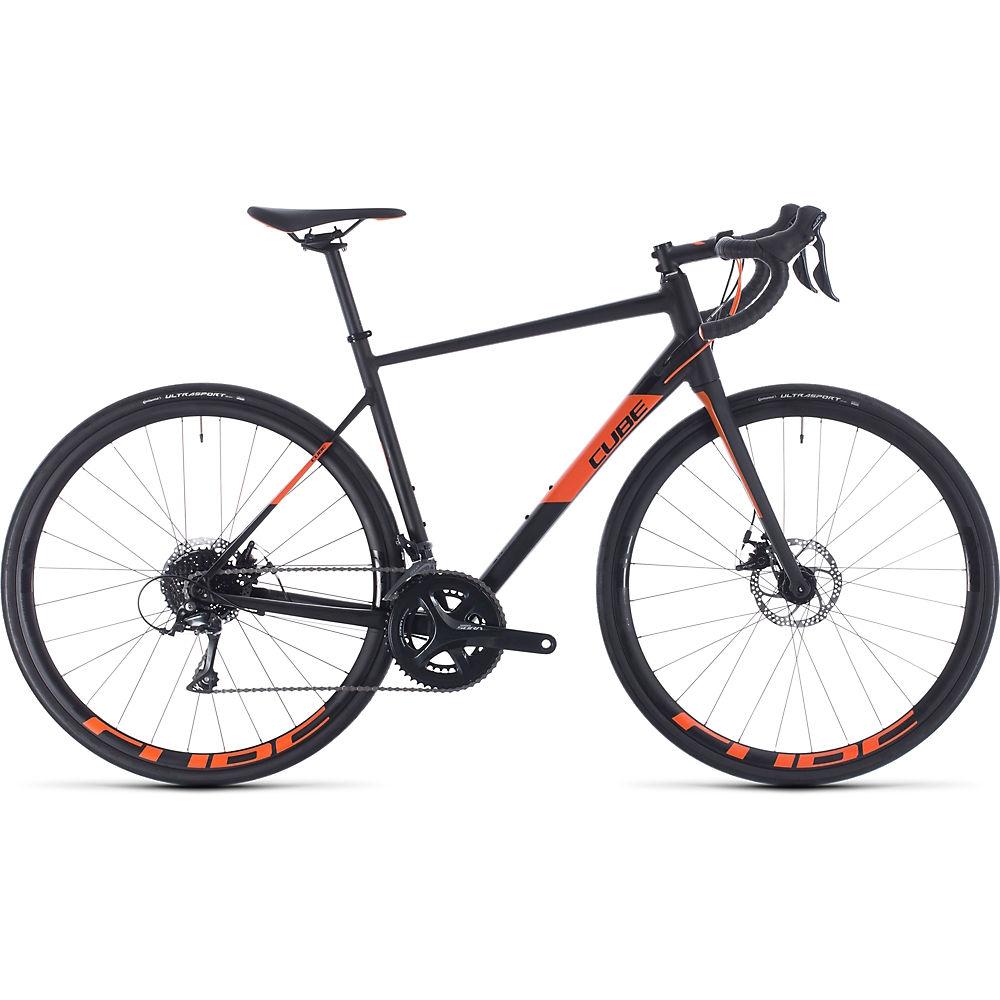 Cube Attain Pro Road Bike 2020 – Black – Orange – 53cm (21″), Black – Orange
