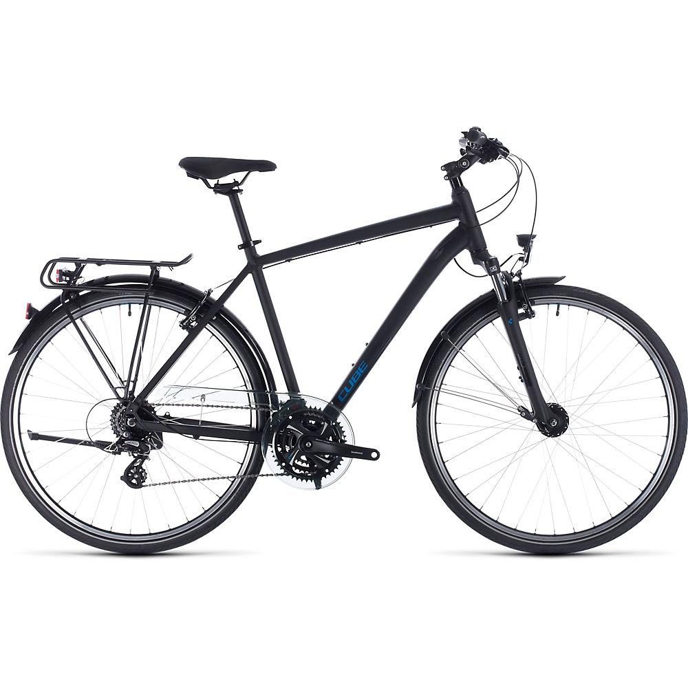 Cube Touring Bike 2020 – Black – Blue – 46cm (18″), Black – Blue