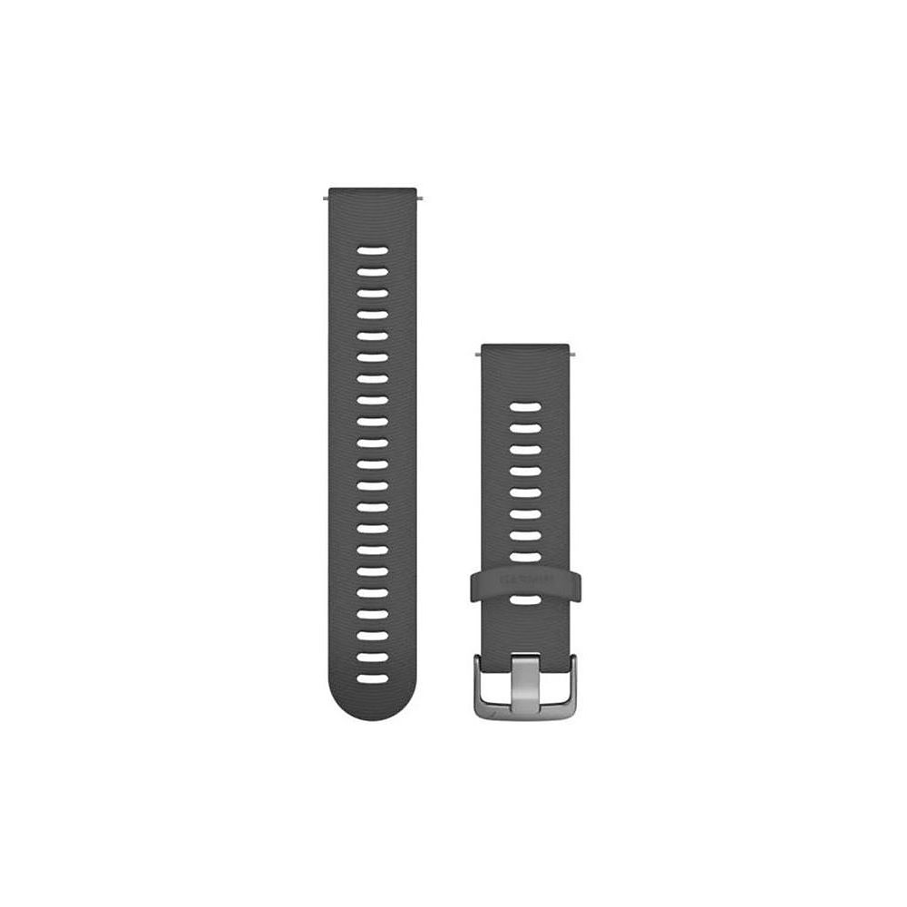 Garmin 20mm Quick Release Silicone Watch Band - Slate, Slate