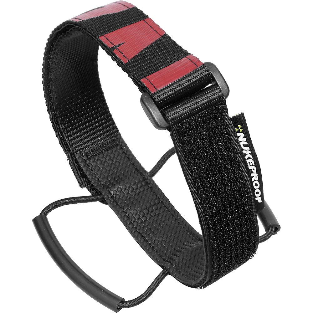 Nukeproof Horizon Enduro Strap - Black - Red - 38cm  Black - Red
