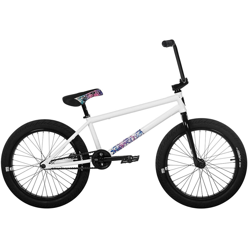 "Image of Subrosa Novus Burnett BMX Bike 2020 - Blanc brillant - 21"", Blanc brillant"