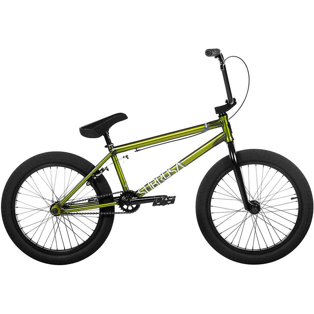 Subrosa Salvador BMX Bike 2020 - Matt Trans Green - 20.5