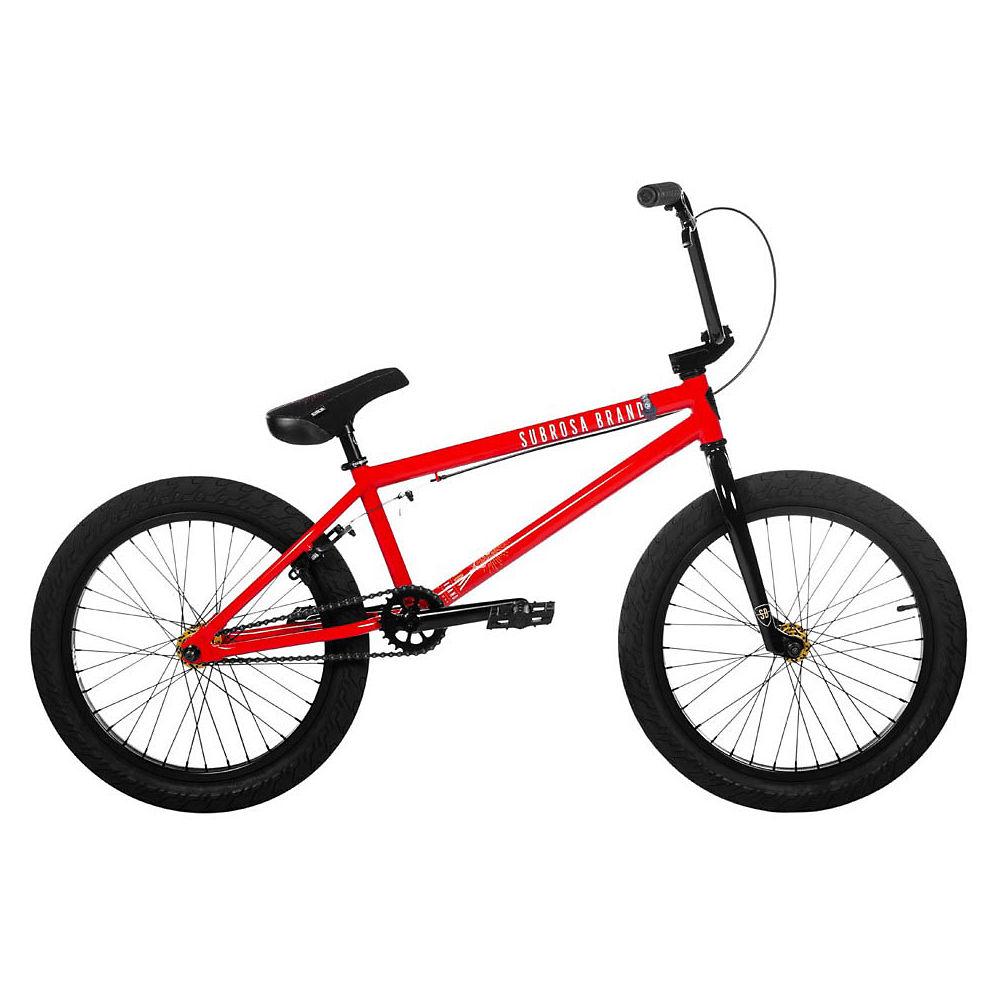 Subrosa Sono BMX Bike 2020 - Gloss Light Red - 20.5