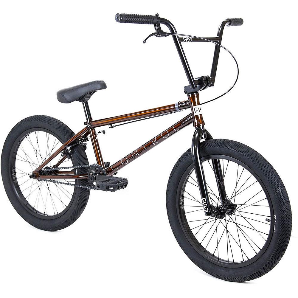 Cult Control BMX Bike 2020 - Trans Brown - Black - 20.75