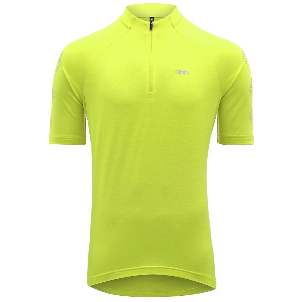 Dhb Flashlight Short Sleeve Jersey - Fluro Yellow - M  Fluro Yellow
