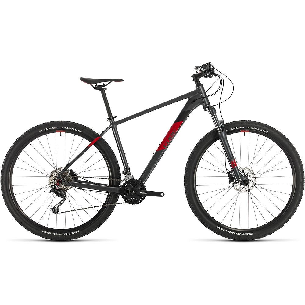 Cube Aim SL 29 Hardtail Bike 2020 - Iridium - Red - 43cm (17