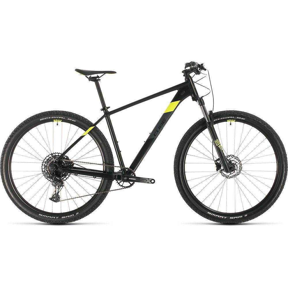 Cube Analog 27.5 Hardtail Bike 2020 - nero - giallo - 36cm (14
