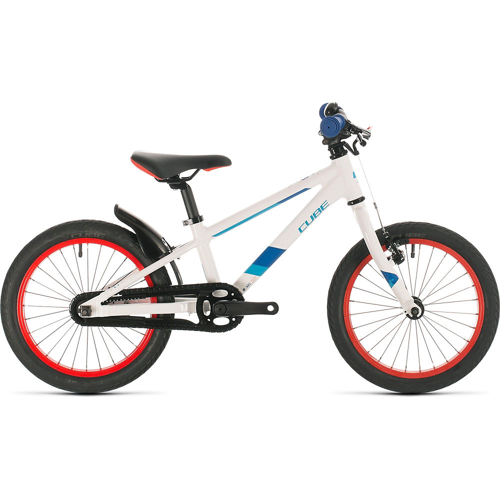 "Cube Cubie 160 Kids Bike 2020 - White - Blue - 16"", White - Blue"