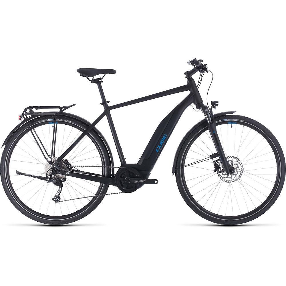 Cube Touring Hybrid One 400 E-Bike 2020 - nero - blu - 54cm (21