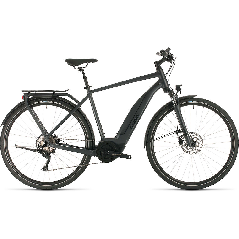 Cube Touring Hybrid Pro 500 E-Bike 2020 - Iridium - Black - 58cm (22.75
