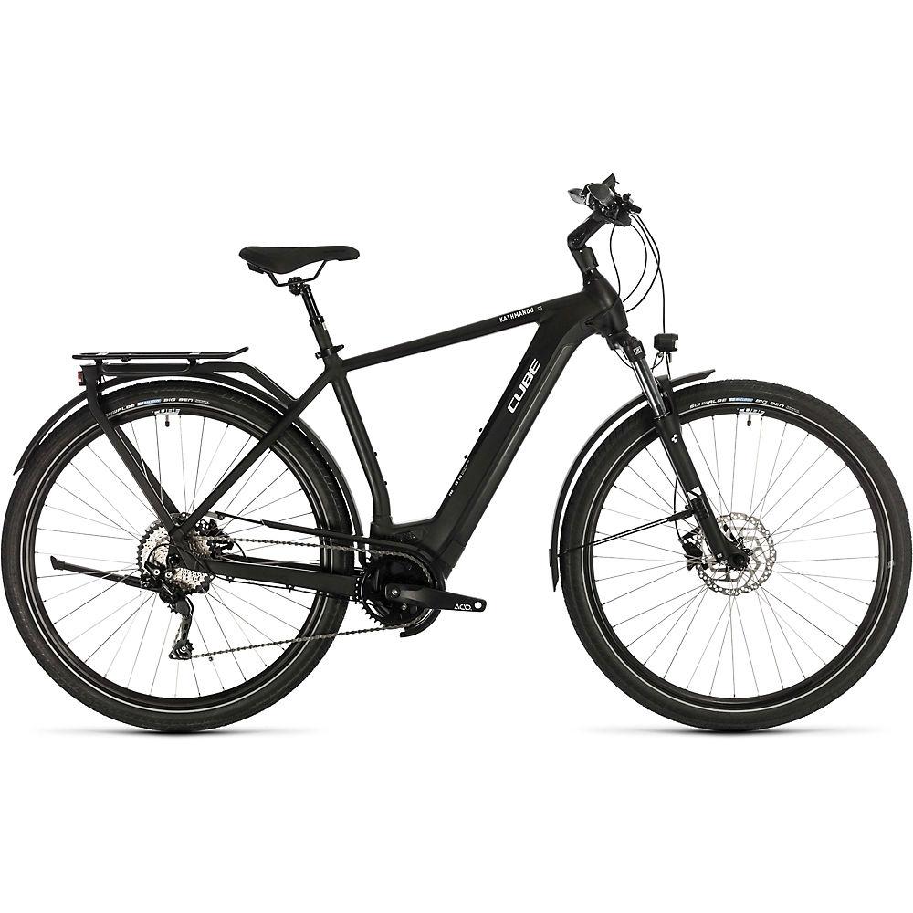 Cube Kathmandu Hybrid Pro 500 E-Bike 2020 - nero - bianco - 54cm (21