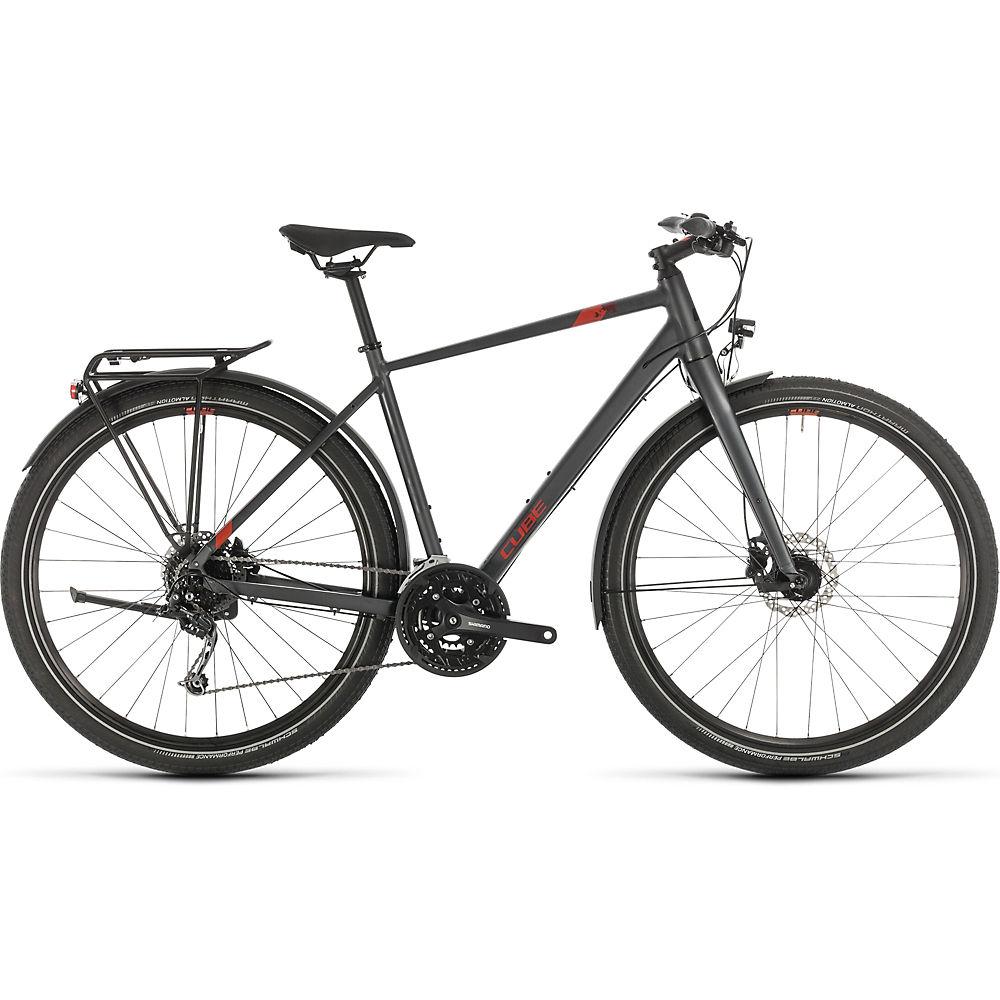 Cube Travel Bike 2020 - Iridium - Red - 46cm (18