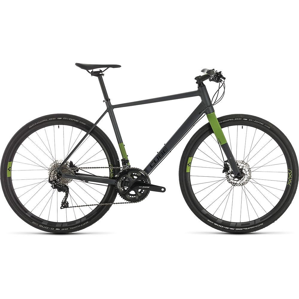 Cube SL Road Race Bike 2020 - Iridium - verde - 56cm (22