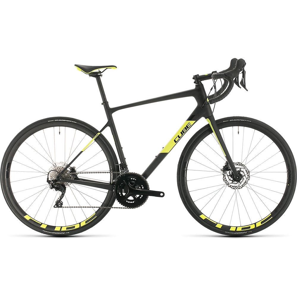Cube Attain GTC Race Road Bike 2020 - carbonio giallo - 58cm (22.75