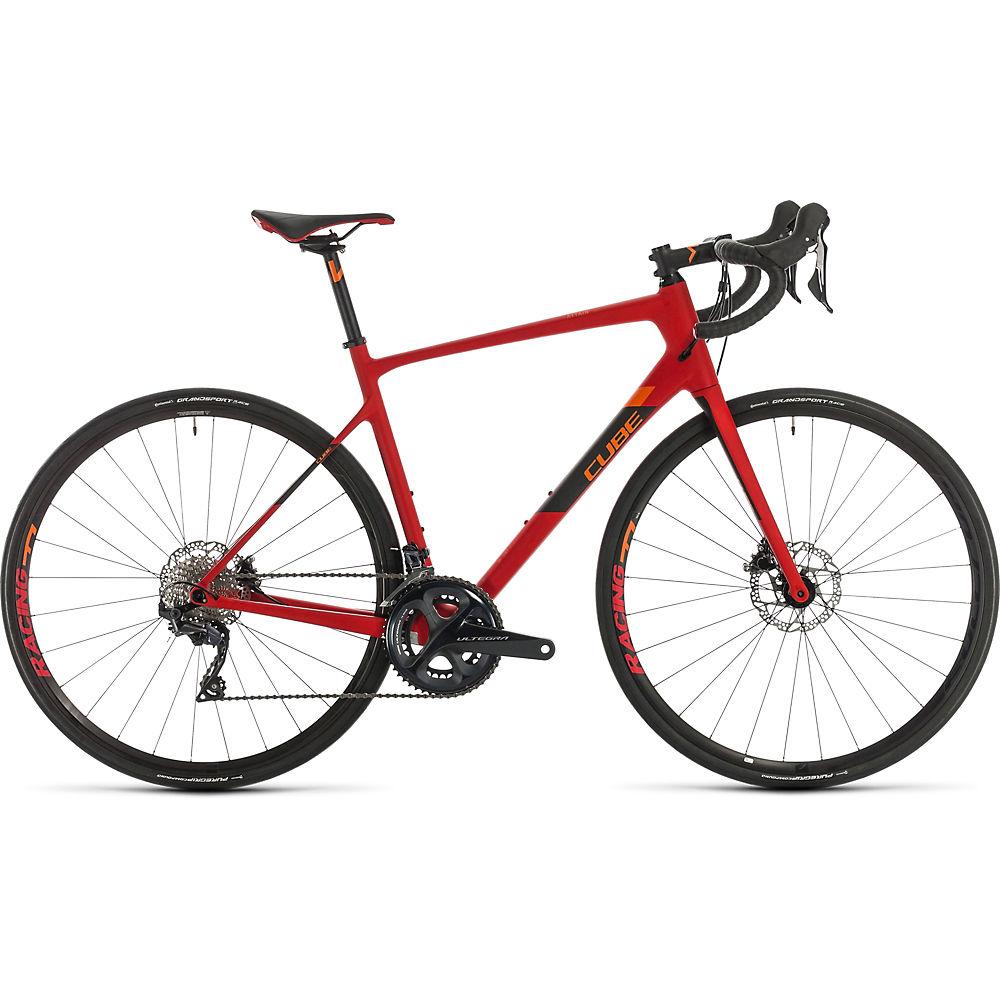 Bici da strada Cube Attain GTC SL 2020 - Red - Orange - 50cm (19.5