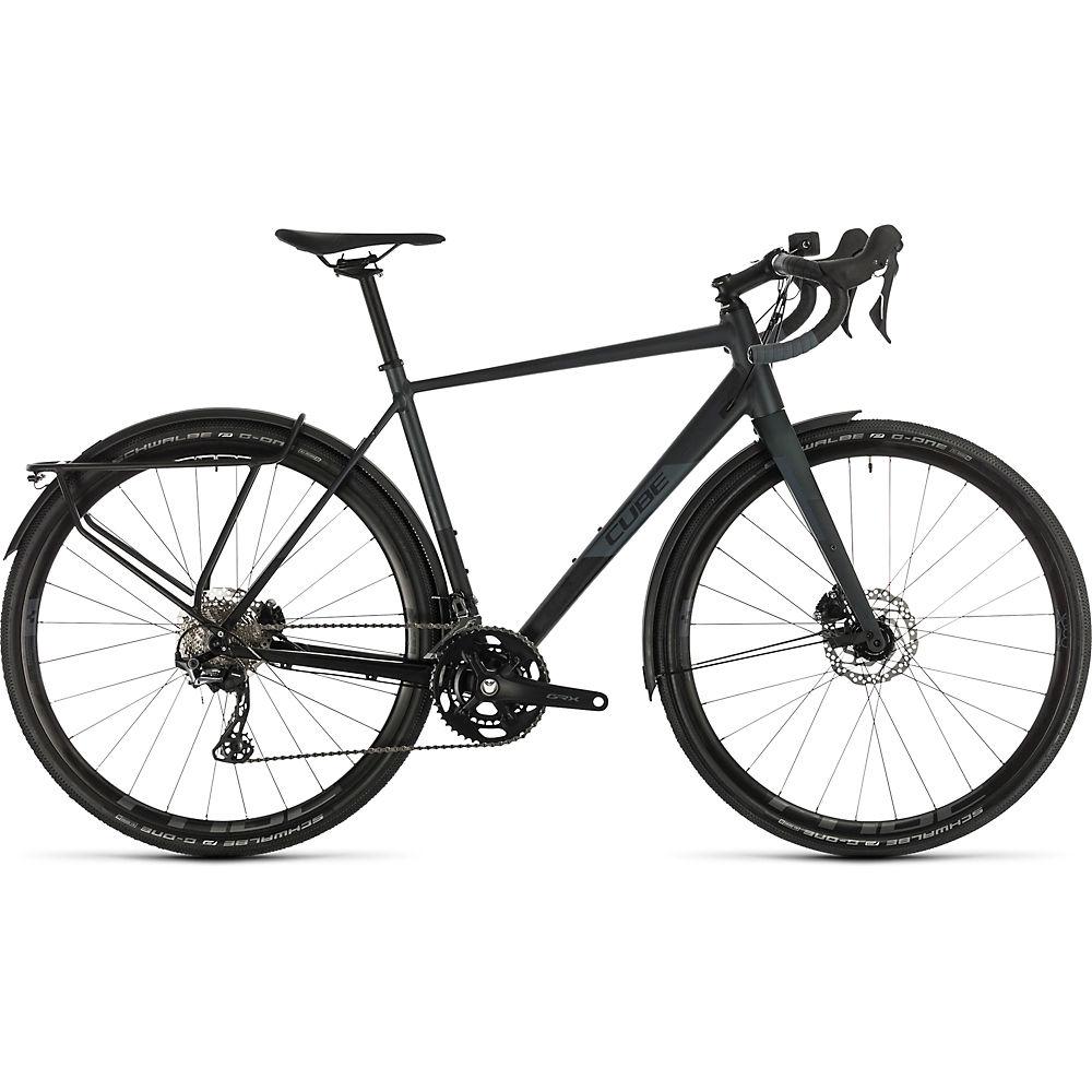 Cube Nuroad Race FE Road Bike 2020 - Black - Iridium - 50cm (19.5