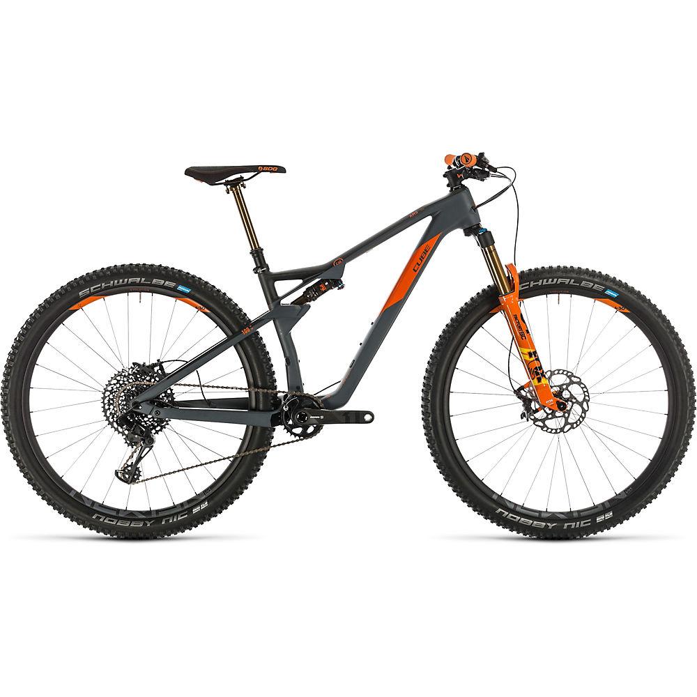 Cube AMS 100 C:68 TM 29 Suspension Bike 2020 - grigio - arancione - 51cm (20