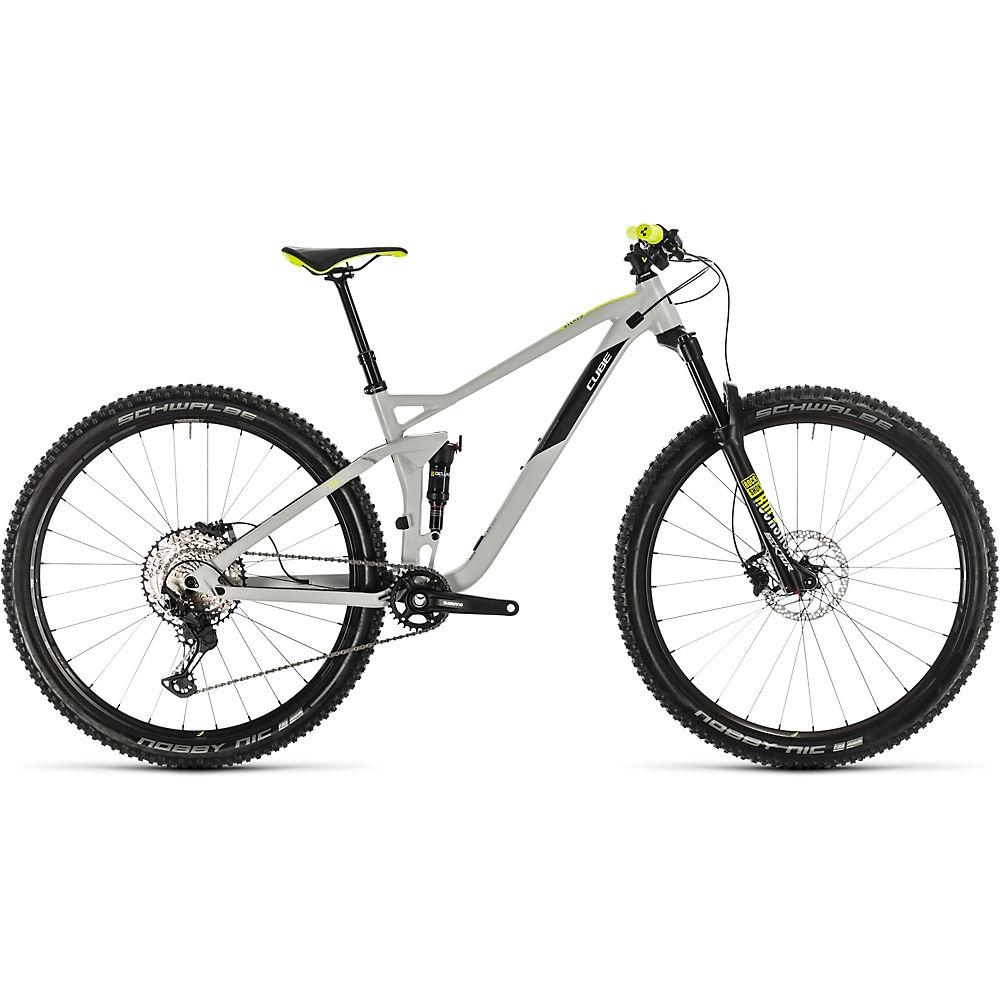 Cube Stereo 120 Race 29 Suspension Bike 2020 - grigio - giallo - 51cm (20